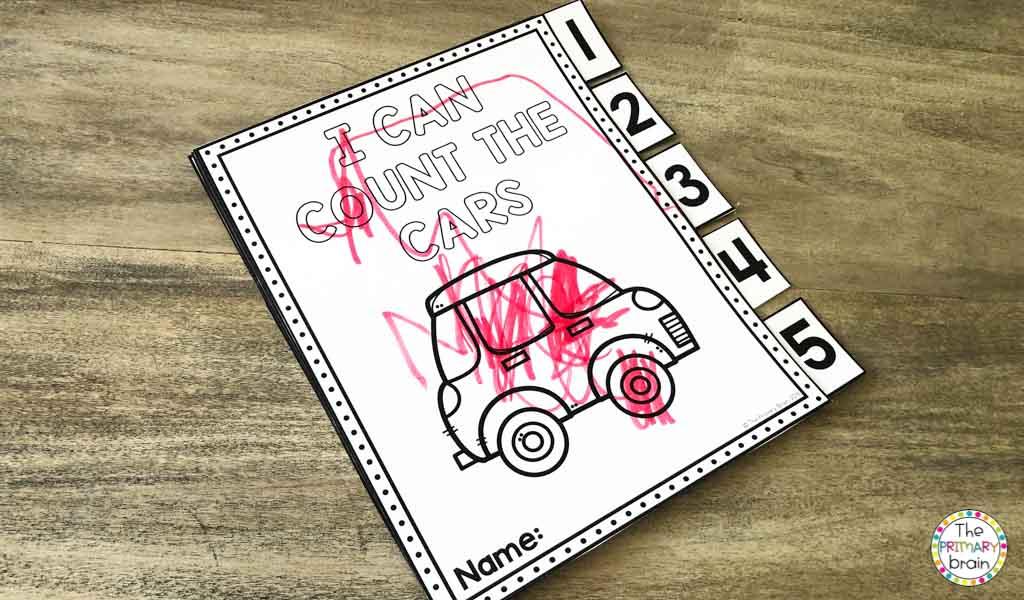 Cars Dot Marker
