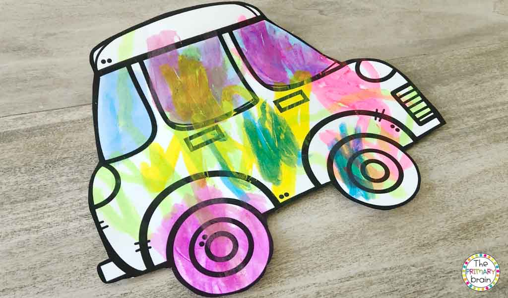 Cars Painting