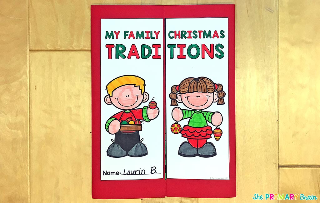 Christmas Lapbook Cover