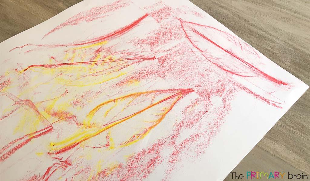 CrayonLeafArt