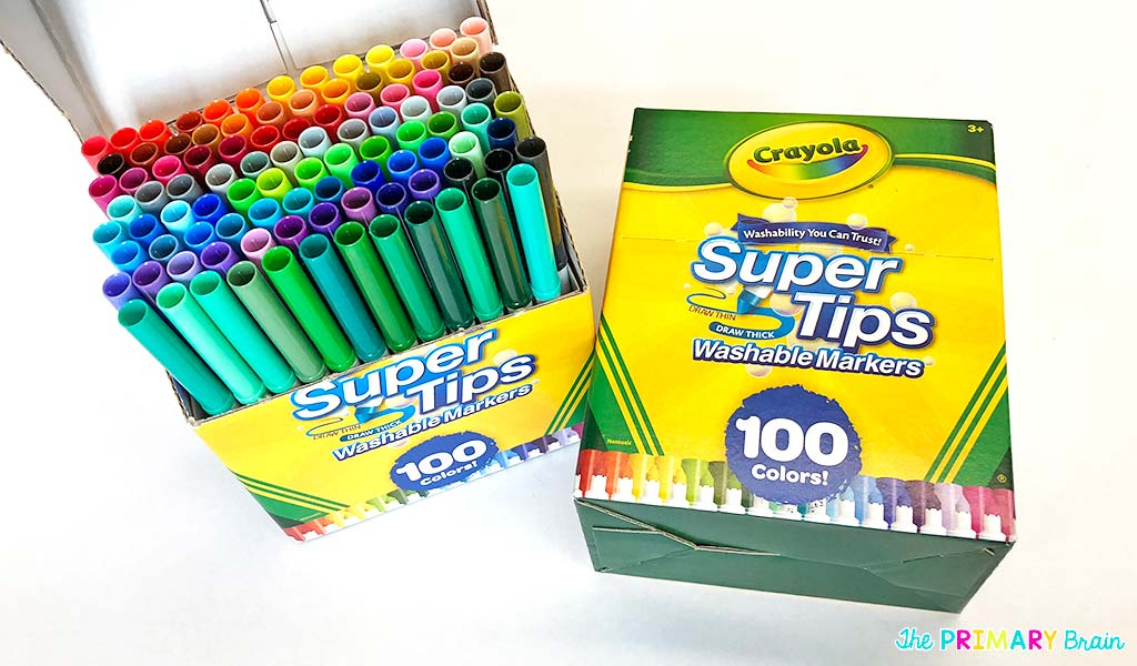 Super Tips Markers