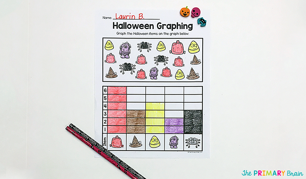 Halloween Math Graphing