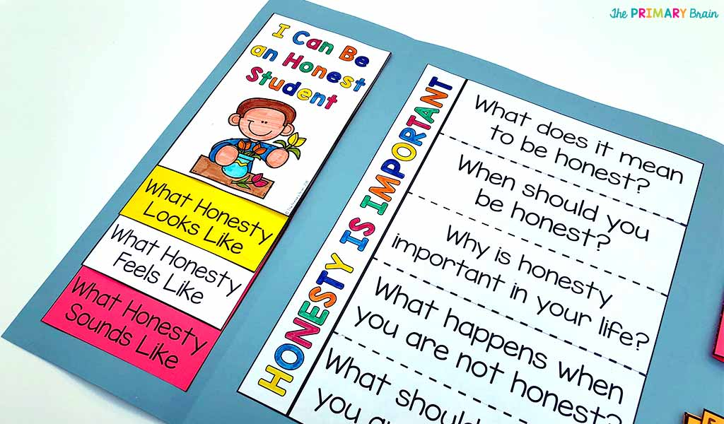 Honesty Flap and Flip Books