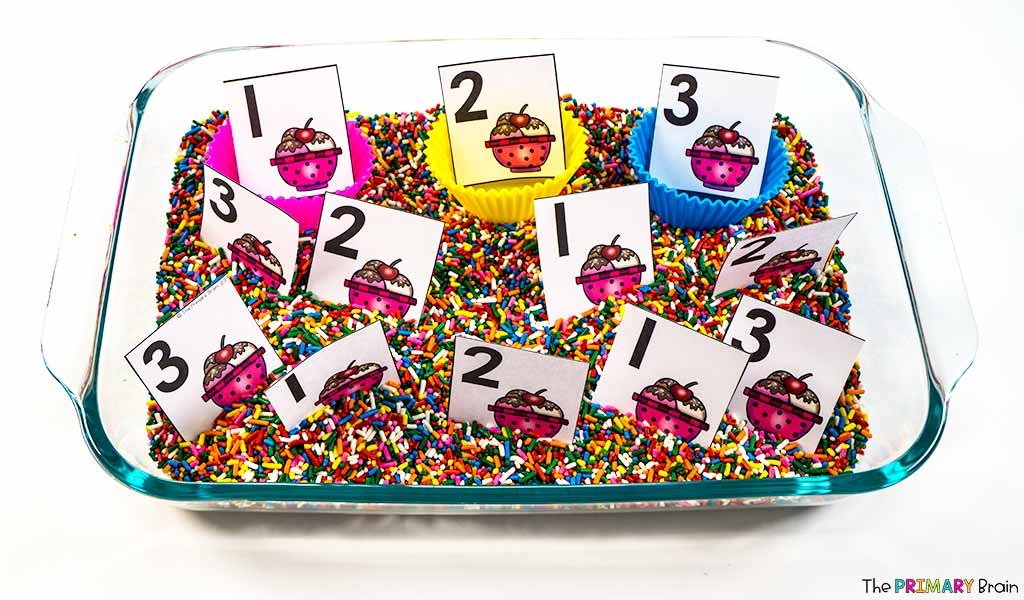 Ice Cream Number Sort