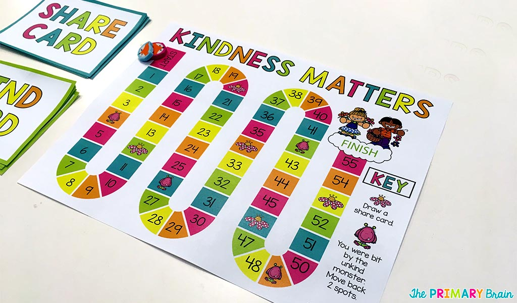 Kindness Game Board