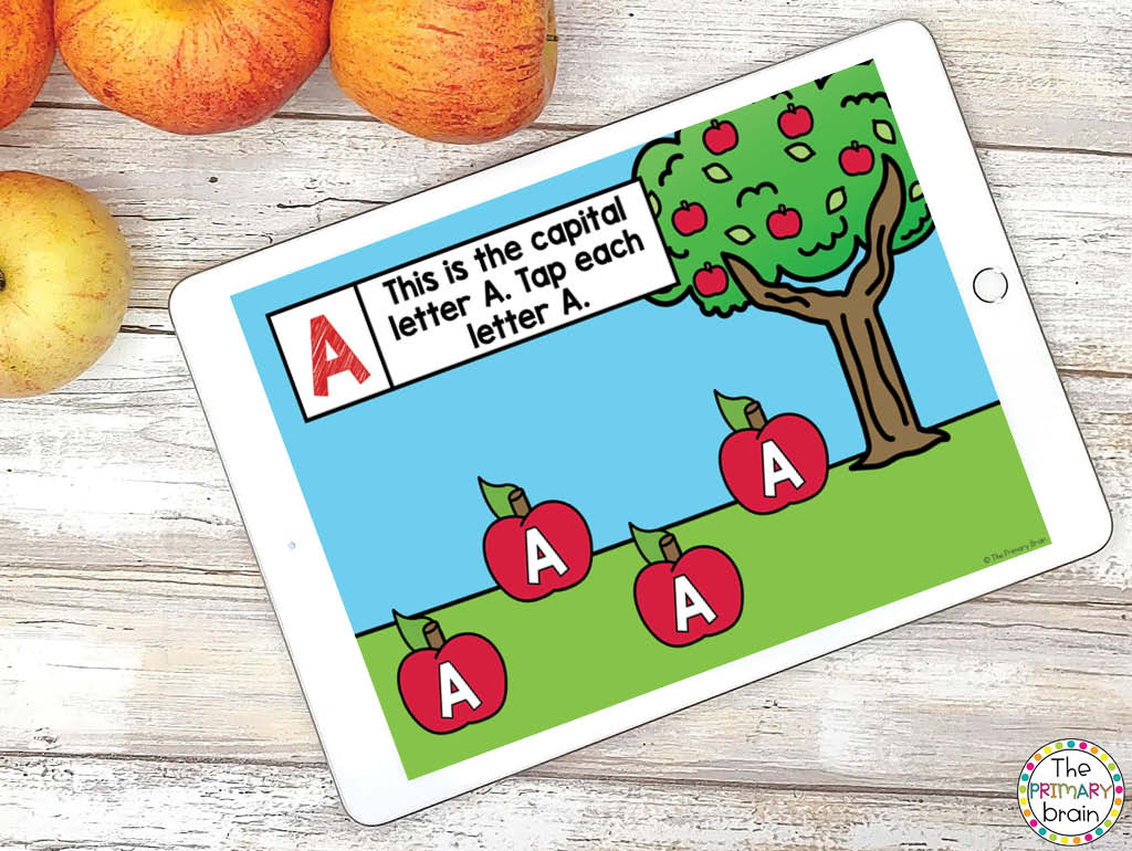Letter A Boom Cards