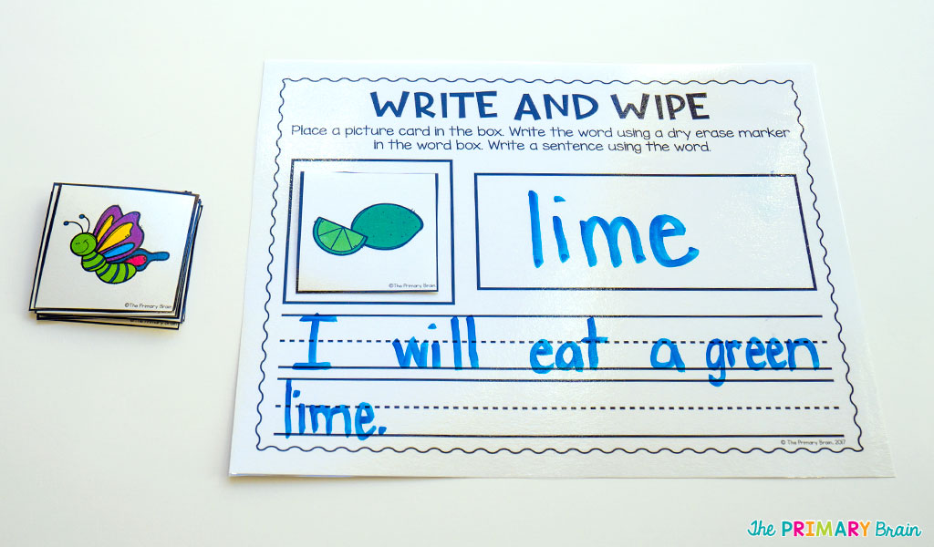 Long I Write and Wipe