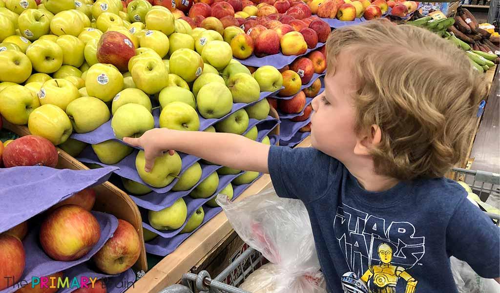 Grocery Store Field Trip 2