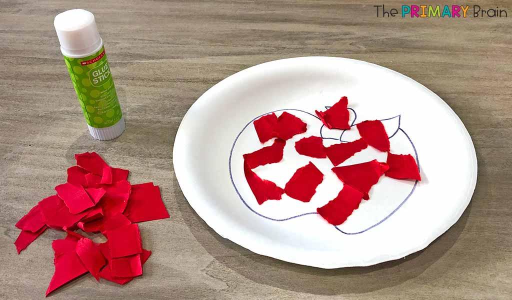 Apple Plate Craft