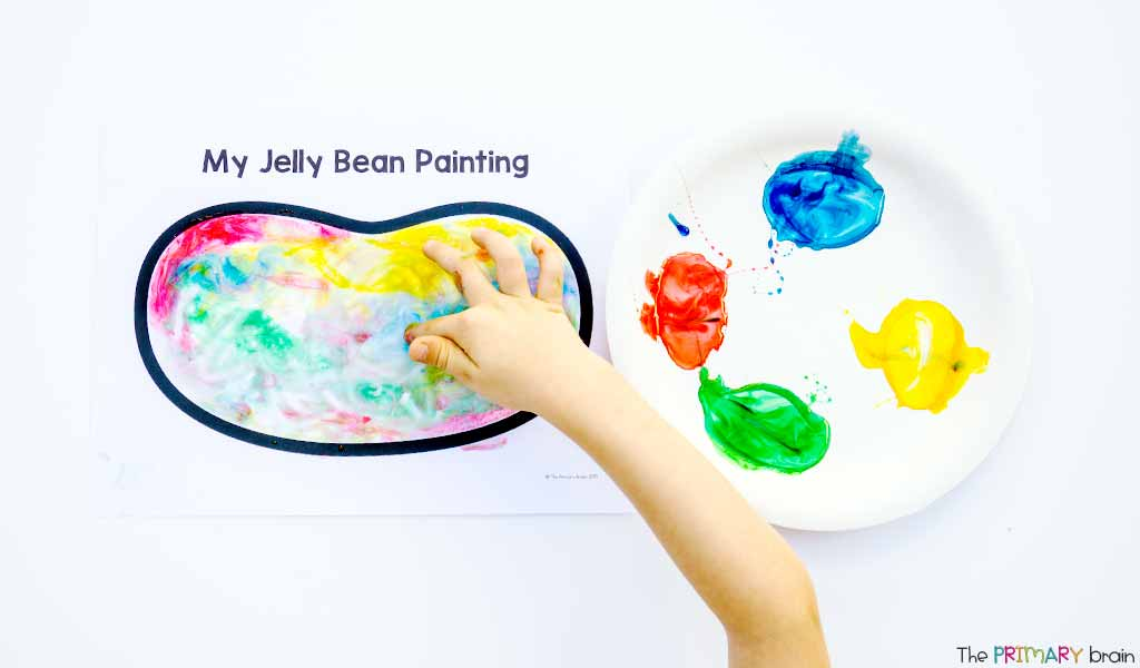 Jelly Bean Painting
