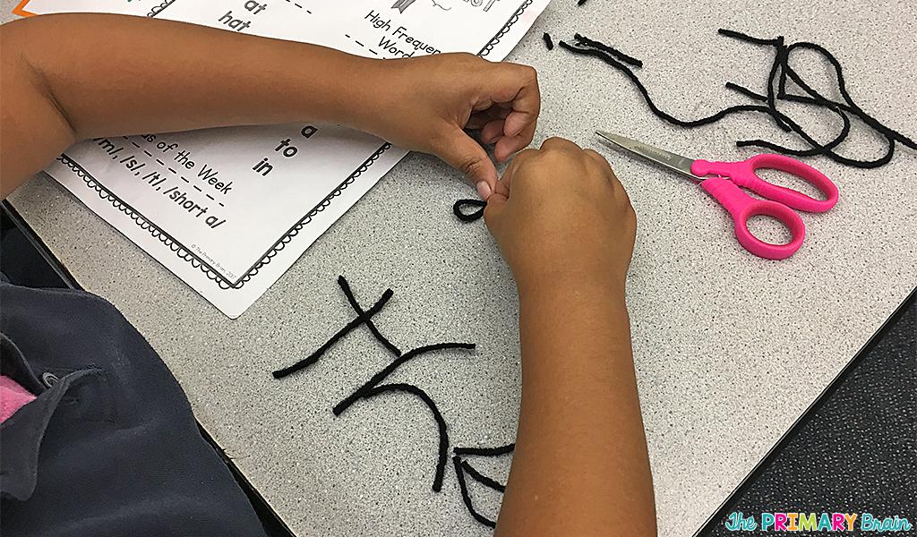 Yarn Spelling